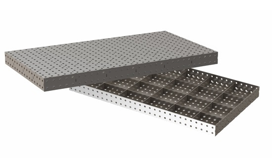 Сварной стол 1500х800х100 мм.