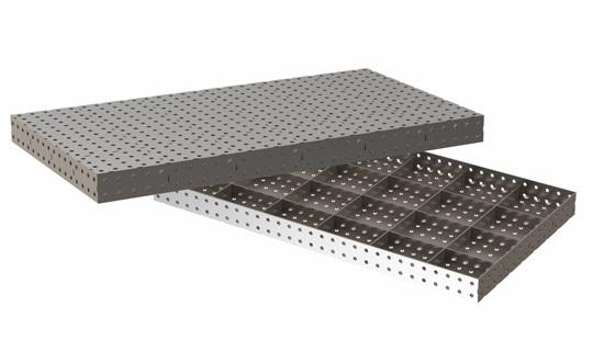 Сварочный стол 1500х800х100 мм.