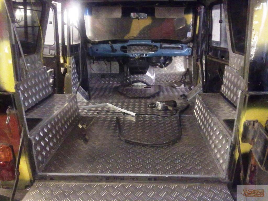 Тюнинг УАЗ-469 Хантер для бездорожья своими руками 59