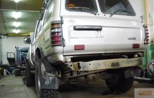Установка комплекта бодилифта на Toyota Land Cruiser 80