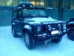 Подготовка Land Rover