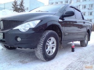 Лифт SsangYong Actyon Sports