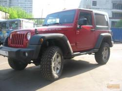Подготовка Jeep Wrangler Rubicon