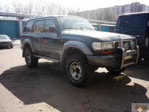 Toyota Land Cruiser 80 - подготовка