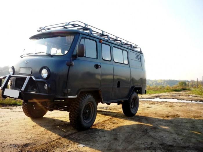 Подготовка УАЗ-3309 Буханка